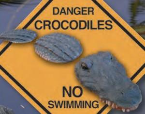 Plast krokodil (60510)
