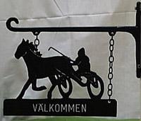 Travhäst (SK-234-K) Mått (H x B): 33 x 23 cm