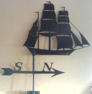 Skepp (VP4055) Mått (H x B): 40 x 50 cm