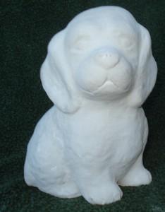 Hund  svart (115-S) Vikt: 2 kg Mått (H): 16 cm