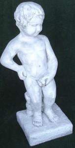 Maneken pis m sockel o slang (125-A) Vikt: 32 kg Mått (H): 82 cm