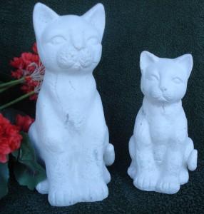 Två små katter  (211) Vikt: 8 kg