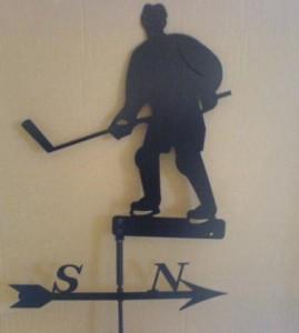 Ishockeyspelare (VP4060) Mått (H): 36 cm