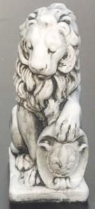 Lejon höger (121-A) Vikt: 14 kg Mått (H): 40 cm