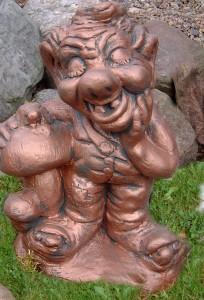 Troll med svamp (516-C) Mått (H): 43 cm